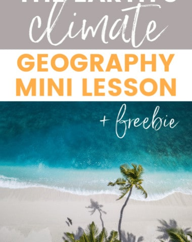 Here's an open & go mini lesson on the Earth's climate that you can use with multiple ages and complete without any preparation. Plus you can grab a FREEBIE handout to go with this lesson.
