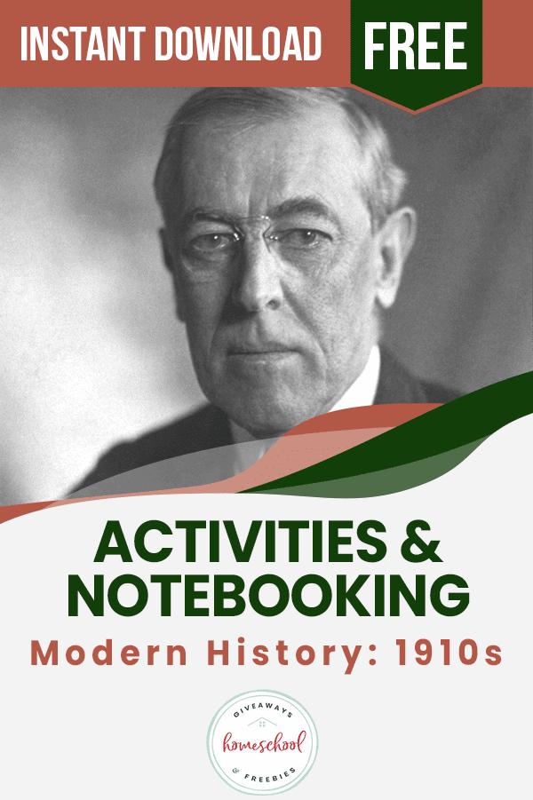portrait of President Woodrow Wilson