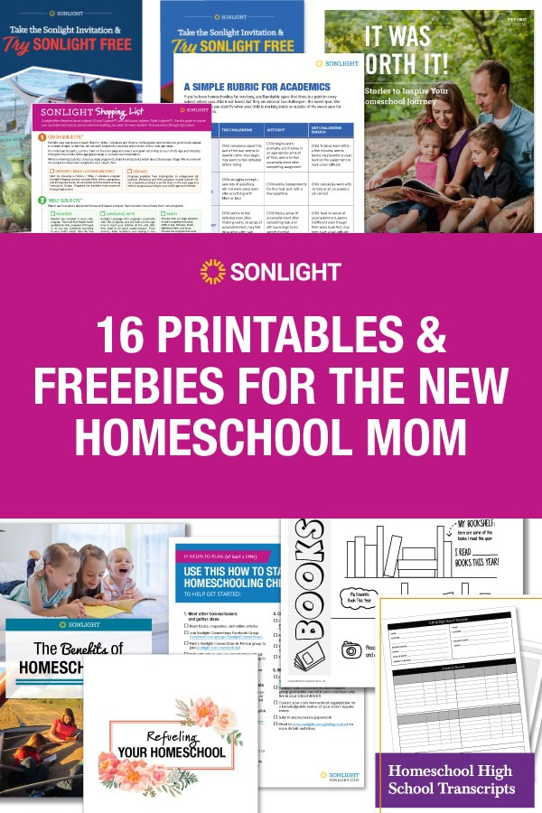 16 Printables and Freebies for the New Homeschool Mom