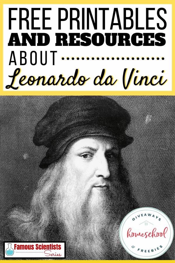 Free Leonardo Da Vinci Homeschool Curriculum