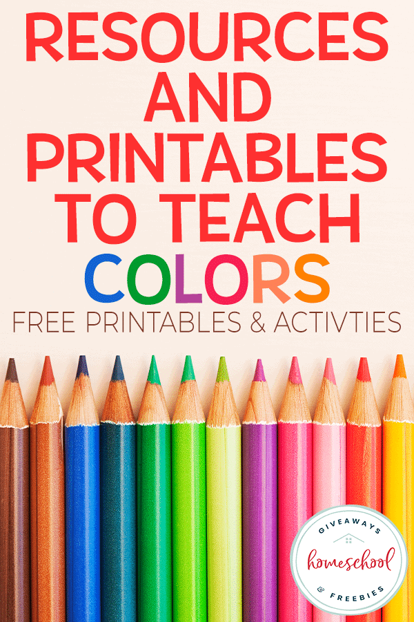 Free Teaching Colors Homeschool Curriculum