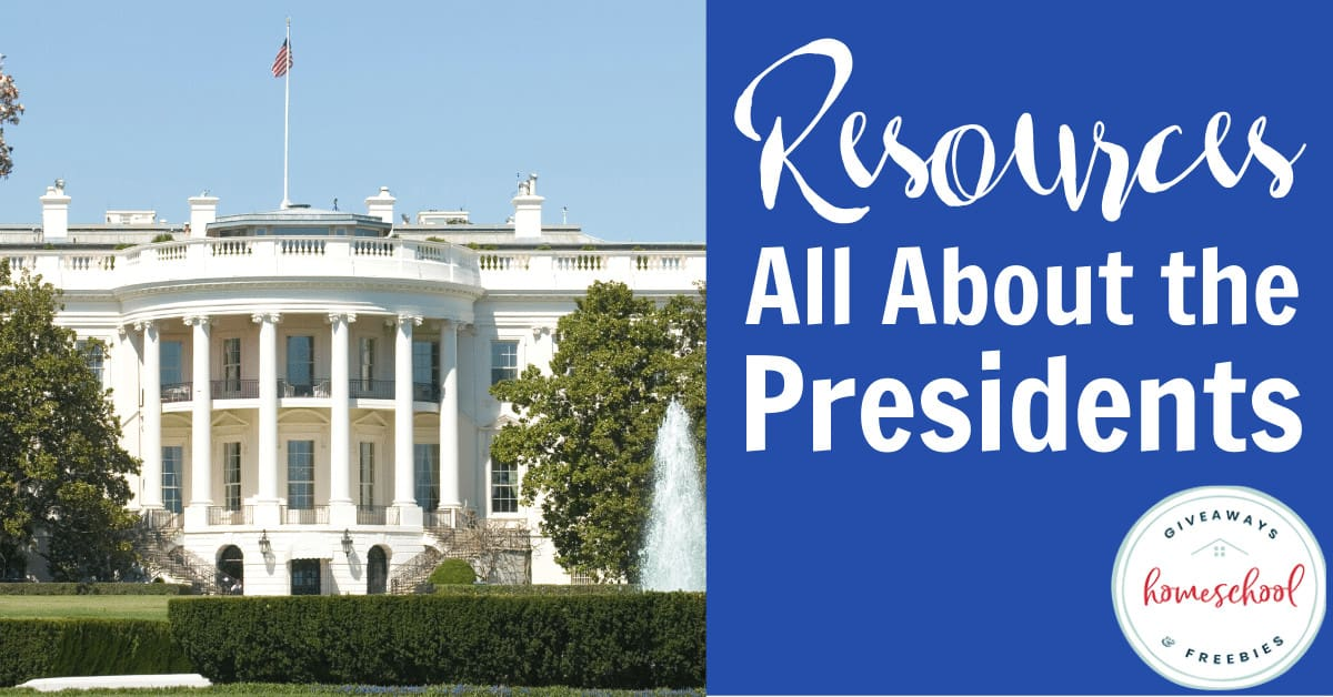 Resources All About the Presidents #presidentsdayresources