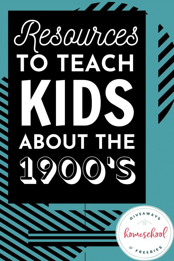 1900s homeschool resources