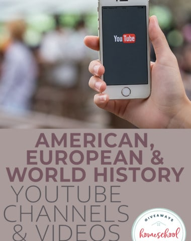 American, European & World History YouTube Channels & Videos for Kids