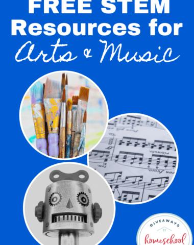 FREE STEM Resources for Arts & Music. #STEAMresources #STEMresources #sciencekids #engineeringkids #mathkids #artkids #techiekids #artSTEMresources #musicSTEMresources