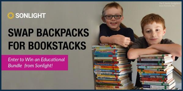 Swap Backpacks for Bookstacks