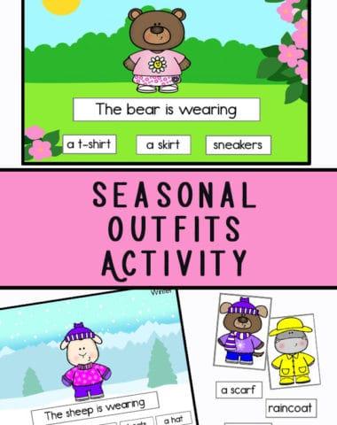 Seasonal Outfits Activity