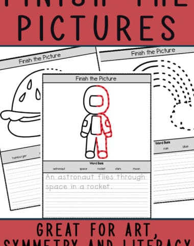 Finish the Pictures Activities
