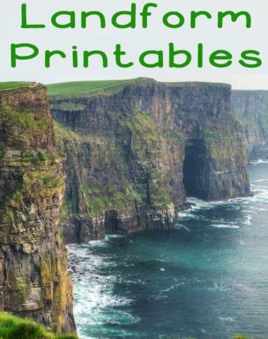 Landform Printables