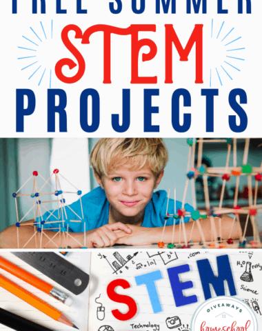 FREE Summer STEM Projects. #summerstem #summersteam #steamactivities #stemactivities #summerslide