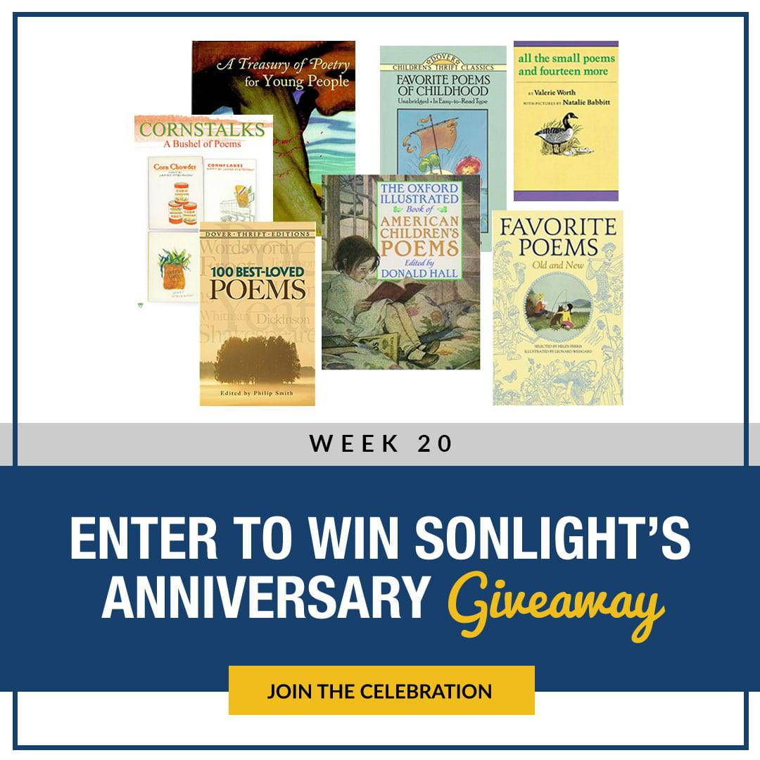 Sonlight Anniversary Giveaways