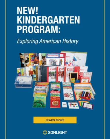 Best American History & Science Curriculum for Kindergarten