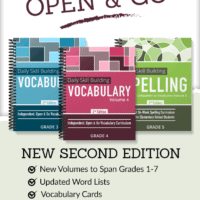 Spelling and vocabulary books