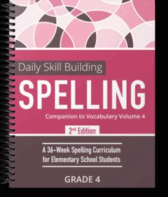 Daily Skill Building: Spelling