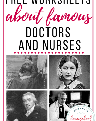 Free Worksheets About Famous Doctors and Nurses. #famousdoctors #famousnurses #famousdoctorworksheets #famousenurseworksheets #doctorandnurses