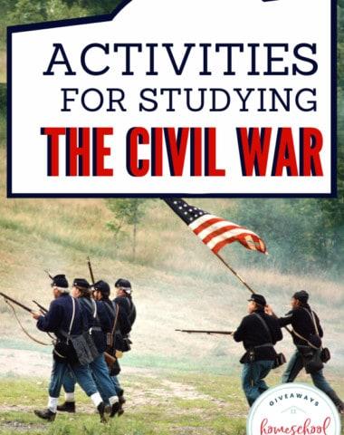 Hands-On Activities for Studying the Civil War. #handsonactivities #civilwaractivities #AmericanCivilWar