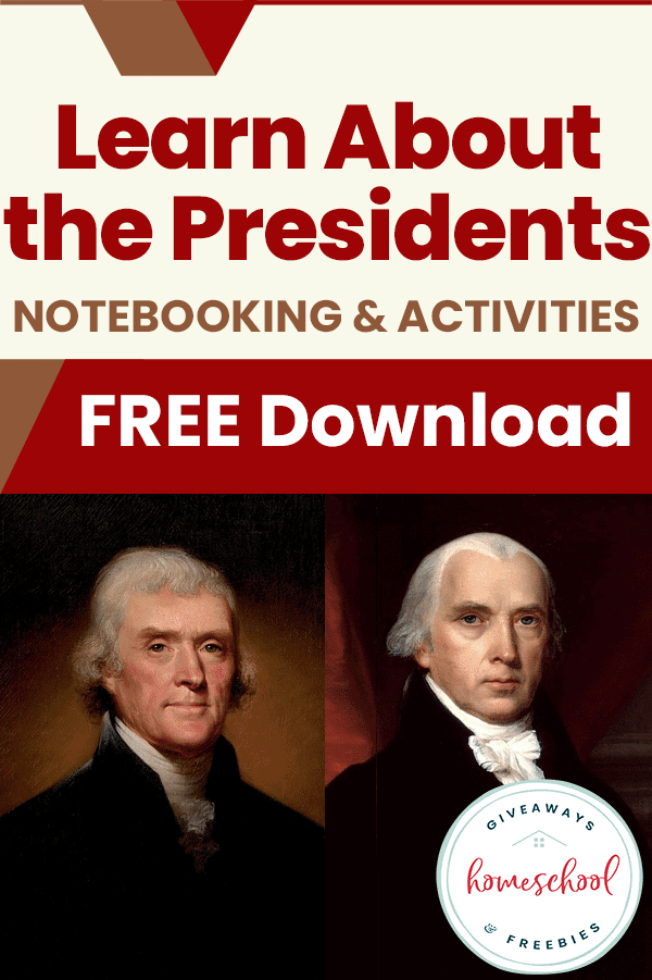 free U.S. presidents homeschool curriculum