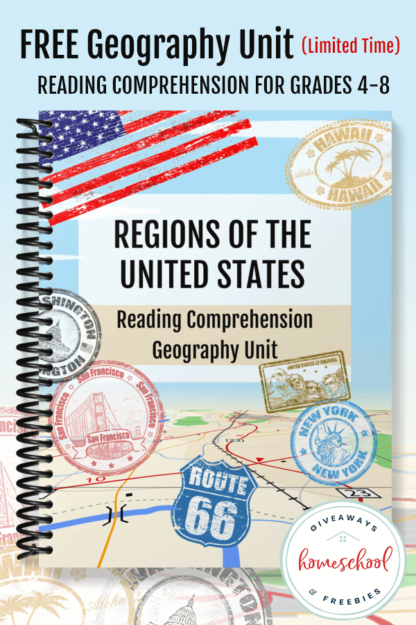 free Geography homeschooling unit