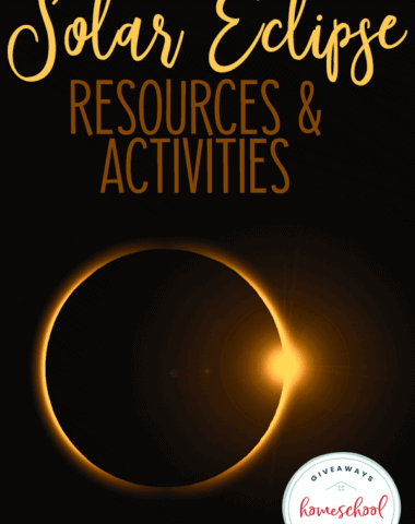 """solar eclipse with diamond ring flair - overlay """"Solar Eclipse Resources & Activities"""""""
