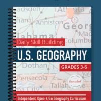 U.S. Geography spiral book