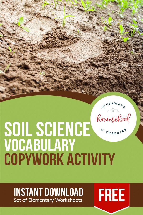 free Soil Science homeschool curriculum