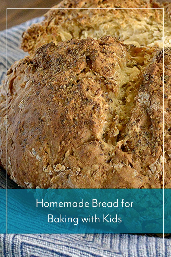 Homemade Bread for Baking with Kids