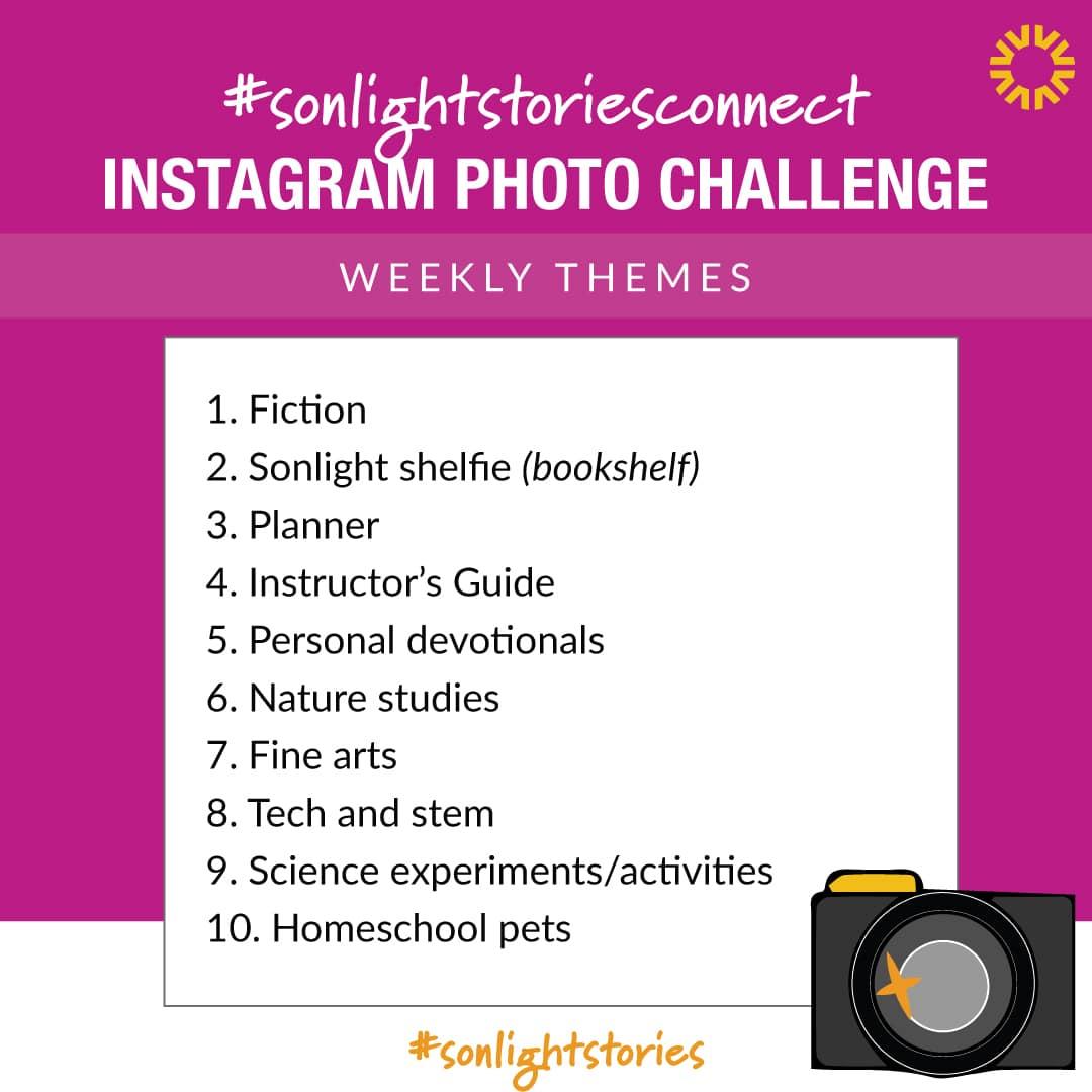 Sonlightstoriesconnect Instagram Challenge