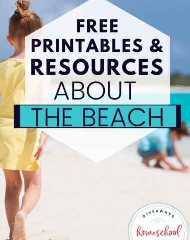 Free Printables and Resources About the Beach. #beachprintables #beachunitstudy #beachthemeprintables #beachresources