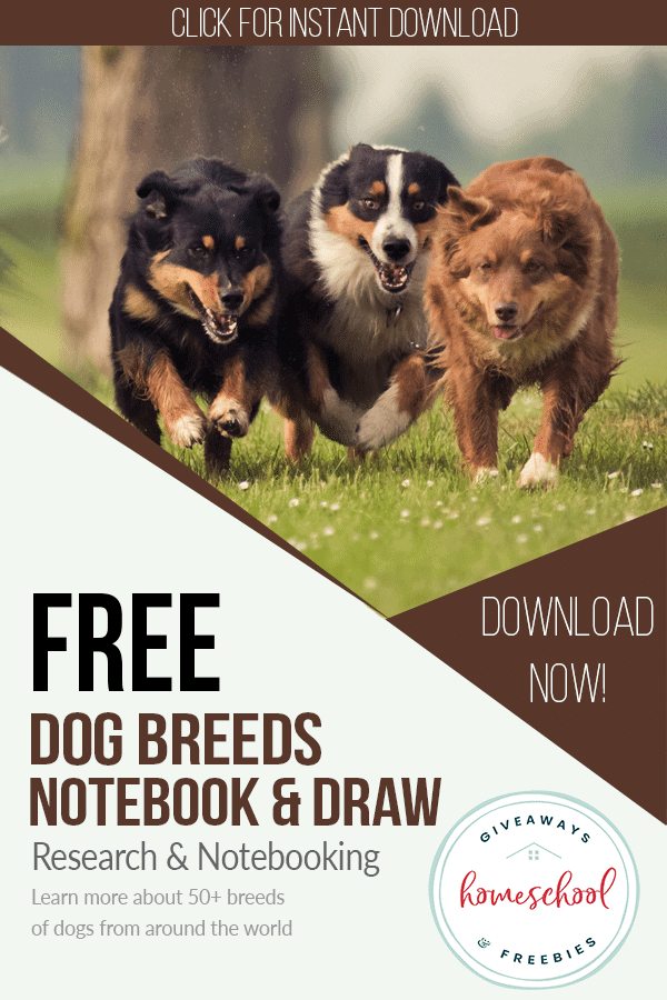 free dog breeds homeschool curriculum