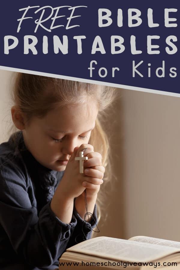 Bible Printables for Kids