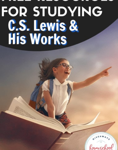 Free Resources for Studying C.S. Lewis & His Works. #CSLewisworks #CSLewisprintables #CSLewisresources #studyCSLewis