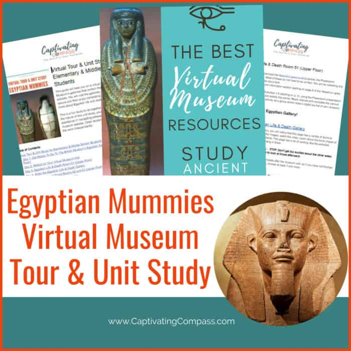 image of Egyptian Mummies Unit Study on www.HomeschoolGiveaways.com