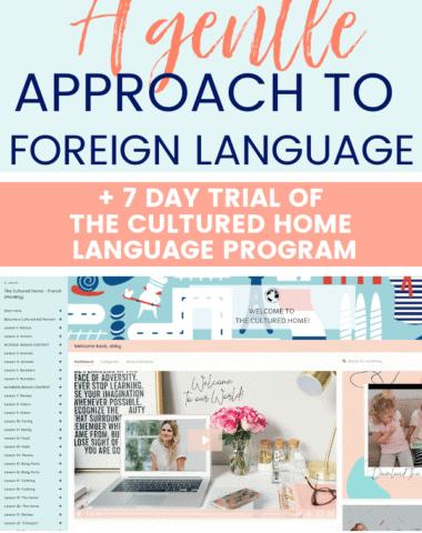 the cultured home language program