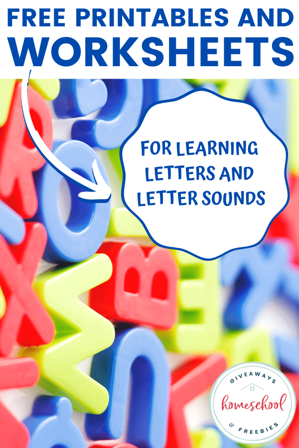 free letters and sounds homeschool curriculum