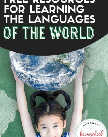Free Resources for Learning About the Languages of the World. #languagesaroundtheworld #foreignlanguage #learninglanguages