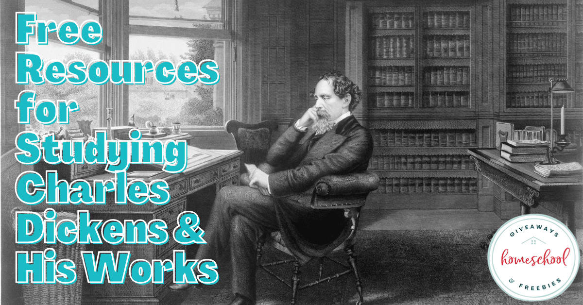 Free Resources for Studying Charles Dickens & His Works. #CharlesDickensresources #Dickensworks #Dickensresources
