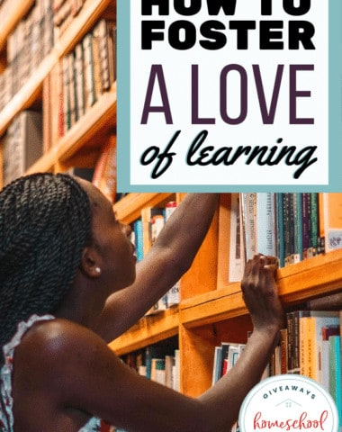 How to Foster a Love of Learning. #loveoflearning #fosteraloveoflearning #kidslovelearning