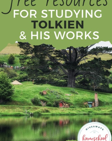 Free Resources for Studying Tolkien & His Works. #studyingTolkien #Tolkiensworks #JRRTolkienresources