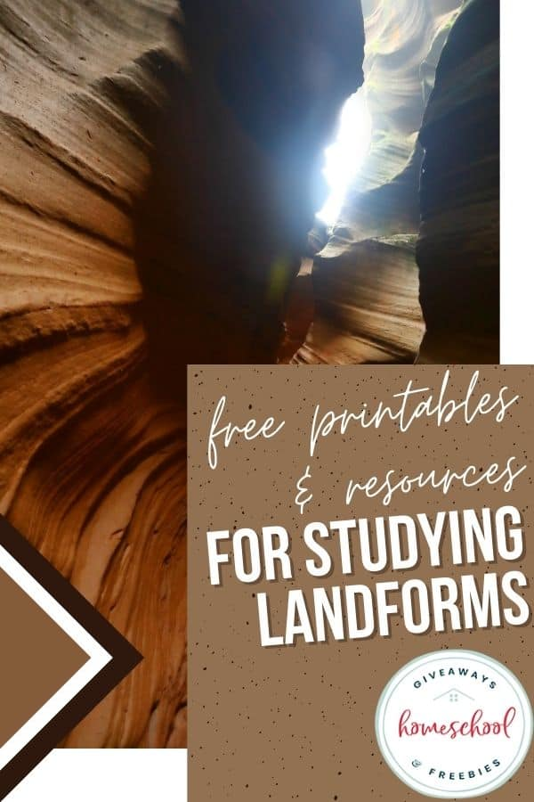 free landforms studying resources
