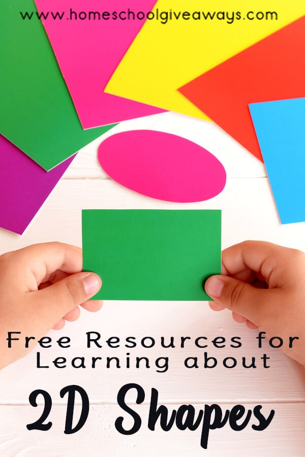 Resources for Learning about 2D Shapes