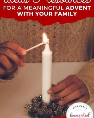 Ideas & Resources for a Meaningful Advent with Your Family. #meaningfuladvent #adventforyourfamily #familyadvent #adventprintables