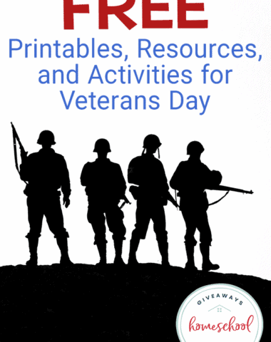 silhouette of soldiers with overlay - Free Printables, Resources, and Activities for Veterans Day