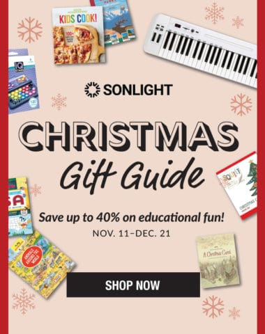 Sonlight Christmas Gift Guide