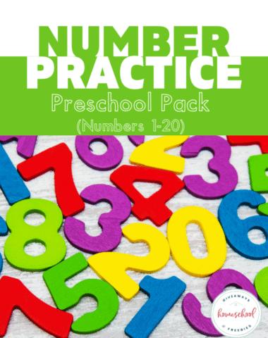 Free Number Practice Worksheets (Instant Download). #numberpracticeworksheets #numberworksheets #understandingnumbers #numberworksheets #numberpreschoolpack #preschoolworksheets