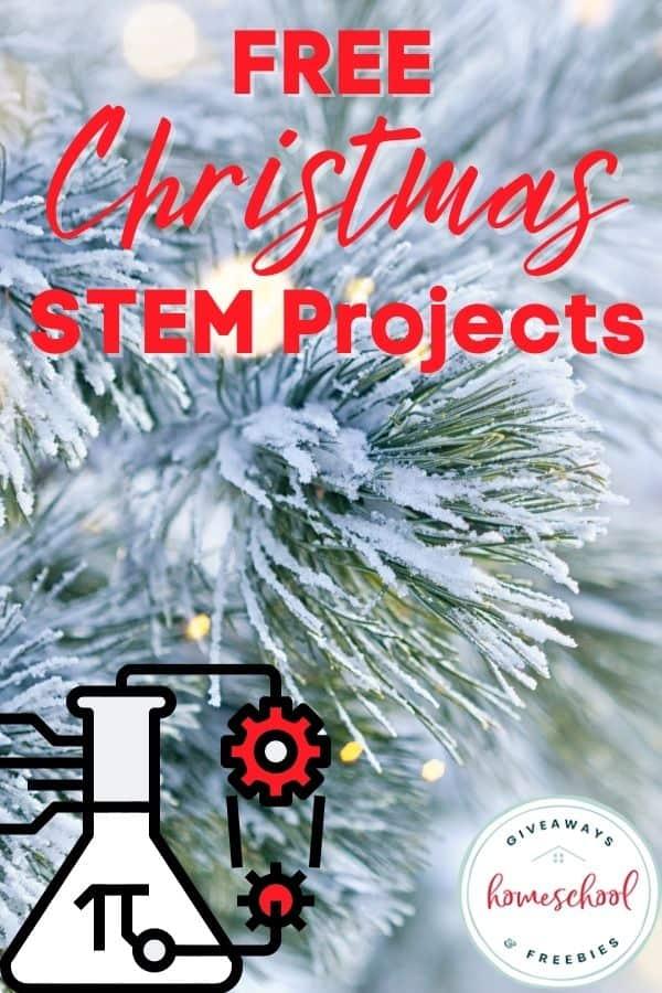 Free Christmas STEM Projects. #ChristmasSTEM #STEMholidays #Christmasprojects #STEMprojects #holidaySTEM