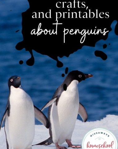 Free Resources, Crafts, and Printables About Penguins