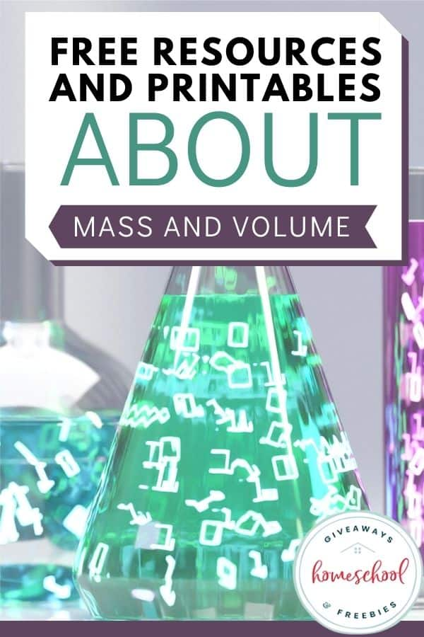 FREE Resources and Printables About Mass and Volume
