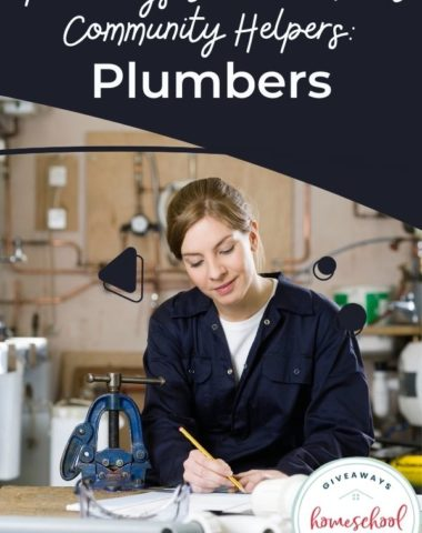 Free Ways to Learn About Community Helpers: Plumbers. #communityhelpersplumbers #plumbersresources #plumberashelpers