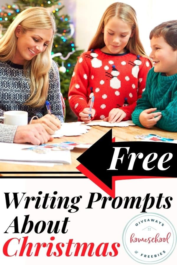 FREE Writing Prompts About Christmas