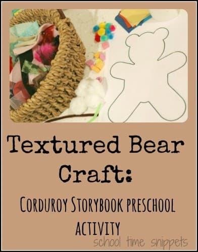 Sample of Textured Bear Craft
